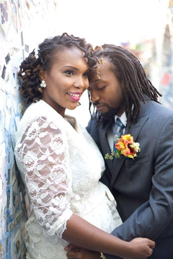 Wedding Hair Versatile Locs Munaluchi Bridal Magazine