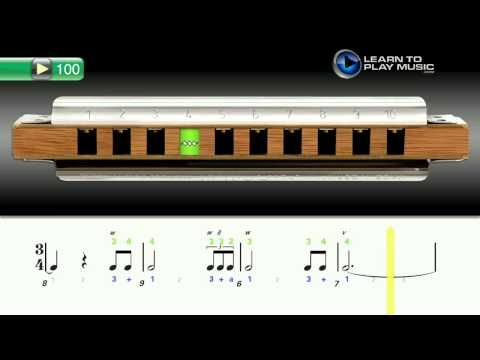 Ex100 How to Play Harmonica - Harmonica Lessons for Beginners - http://www.blog.howtoplaytheharmonica.org/uncategorized/ex100-how-to-play-harmonica-harmonica-lessons-for-beginners
