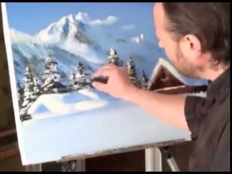 GRATUIT! Didacticiel vidéo complet. Motif d'hiver. Sakharov