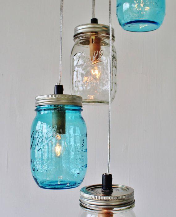 Solar Powered Mason Jar Lights Eco Friendly Mason by BootsNGus