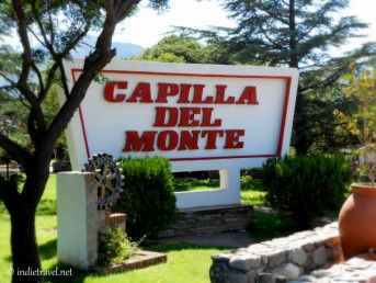 Things to See and do in Capilla del Monte, Cordoba, Argentina