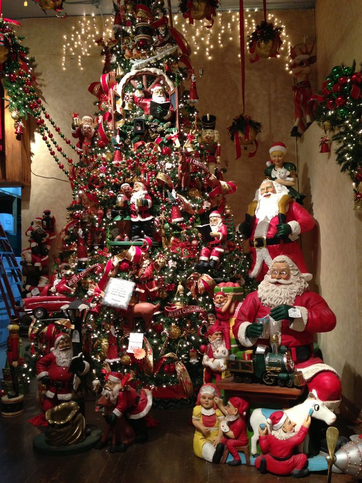 1373 Best Christmas Trees Images On Pinterest Vintage Christmas   Christmas  Town Decorations