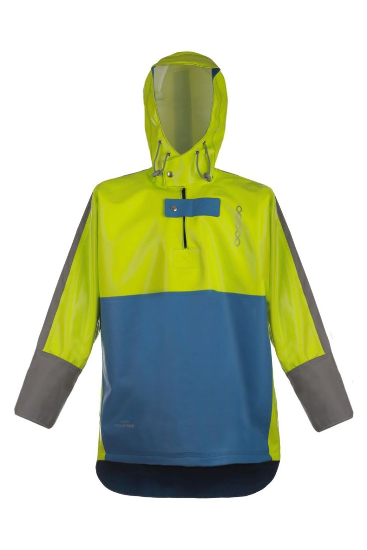 WATERPROOF STORM SMOCK model: 1033 Waterproof jacket model 1133 is made of two types of fabric. The parts most exposed to mechanical damages are made of very resistant fabric Seal Skin, and to increase the comfort, the fabric OPALO has been used as well. Both fabrics have high parametres of resistance against salt water and flame retardant features as well.