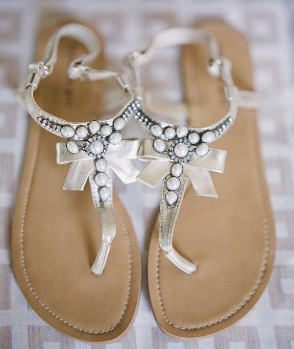 25 Best Ideas About Wedding Sandals For Bride On Pinterest