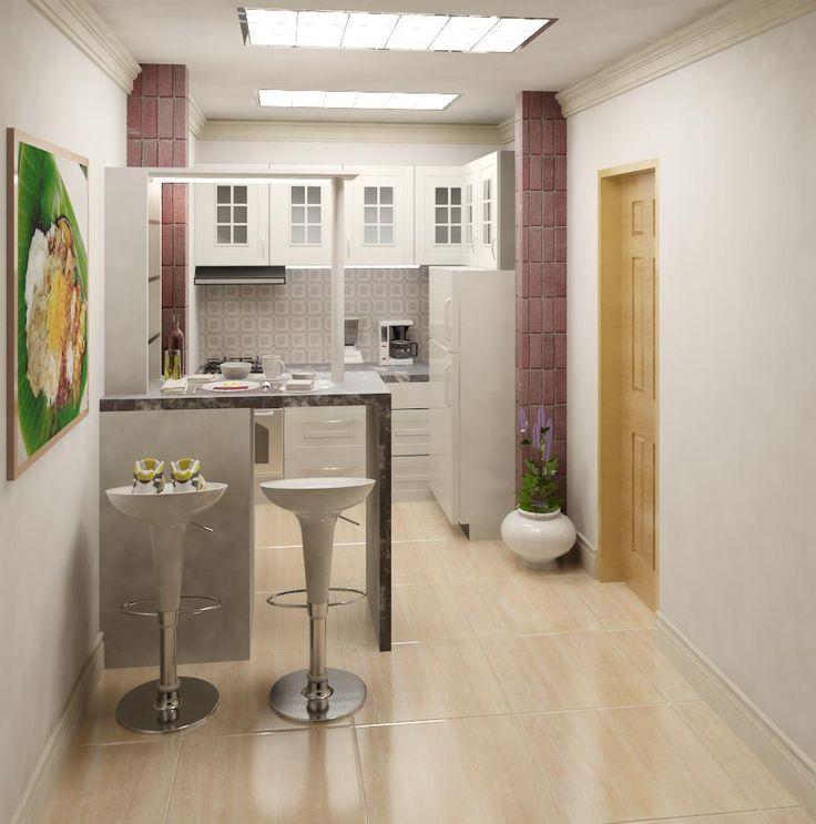 Kitchen Design Rendering: Revit Rendering