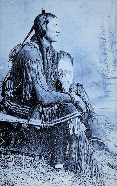 """QUANAH , 1880 Quanah Parker (Comanche kwana, """"smell, odor"""") (c.1845 or 1852 – February 23, 1911) was a Comanche/English-American war leader of the Quahadi (""""Antelope"""") band of the Comanche people. He was born into the Nokoni (""""Wanderers"""") band, the son of Comanche chief Peta Nocona and Cynthia Ann Parker, an English-American, who had been kidnapped as a child and assimilated into the tribe."""