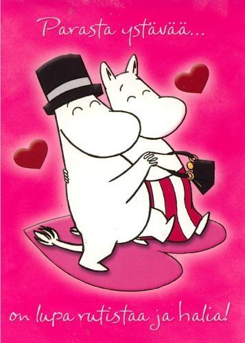 Moominpappa och Moominmamma
