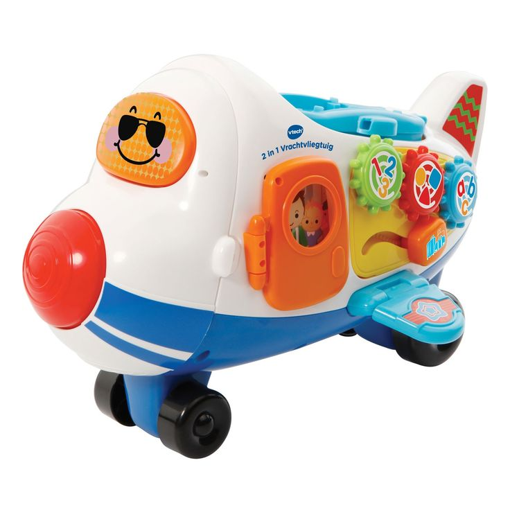 Alle piloten opgelet, want het 2 in 1 Vrachtvliegtuig is geland! Plaats Vince Vliegtuig in de laadruimte of transformeer het vrachtvliegtuig in een lanceerbaan en laat hem van de helling rijden. De vele beweegbare onderdelen bevorderen de ontwikkeling van de motorische vaardigheden en moedigen het spelen van rollenspellen aan. Verbind het 2 in 1 Vrachtvliegtuig met andere speelsets voor nog meer speelplezier! Inclusief Vince Vliegtuig. - Alle piloten opgelet, want het 2 in 1 Vrachtvliegtuig…