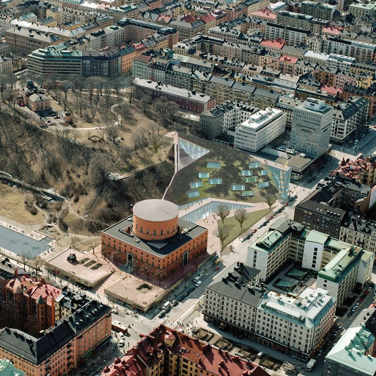 Prijsvraagontwerp Asplund Architectural Competition 'The Stockholm City Library' (2006)