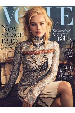 Margot Robbie for Vogue Australia March 2015 by Alexi Lubomirski