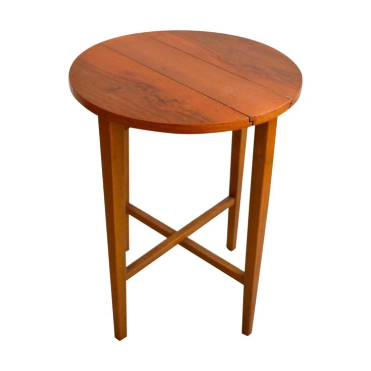 Mid Century Small Bedside Table