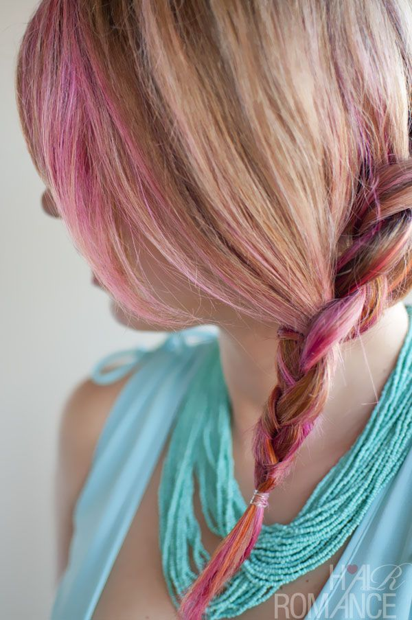 How to: Side braided hairstyle tutorial | Hair Romance