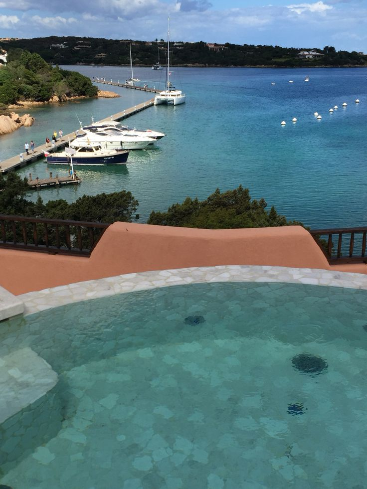 You can see your yacht from your Hotel Cervo Presidential Suite #cervohotel #costasmeralda http://alberghi.consolidatorgroup.it/Hotel/Cervo_Hotel_Arzachena.htm