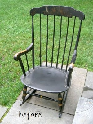 How to Redo My Rocking Chair