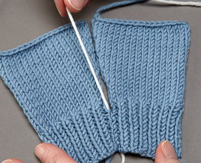 Knitting Stitch By Judy : Mattress, Stitches and The project on Pinterest