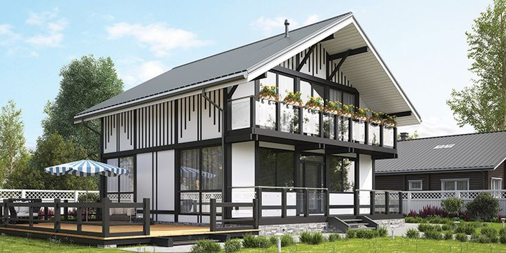 Проект дома 184 м2, общая площадь — 184,0 м2, автор проекта: компания «GOOD WOOD», проекты домов в журнале «Деревянные дома»