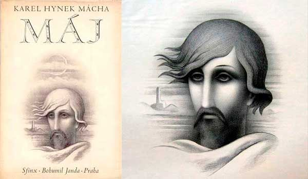 Máchův Máj s ilustracemi Boudy, Zrzavého, Toyen, Aleše, Tesaře, Svolinského etc.
