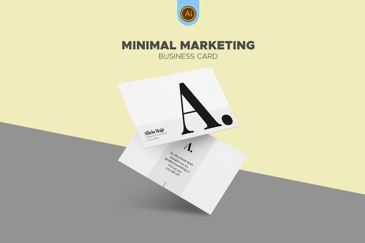 Clean Marketing Consultant Business Card #business #digital  • Download here → http://1.envato.market/c/97450/298927/4662?u=https://elements.envato.com/clean-marketing-consultant-business-card-BENSP3