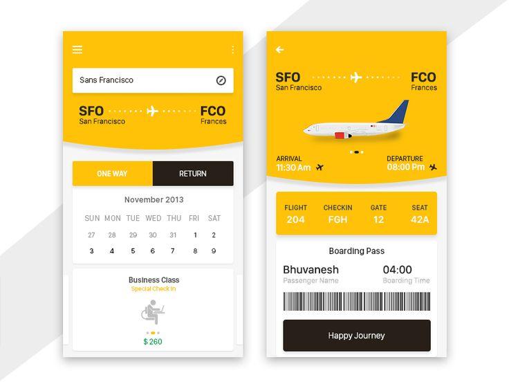 Lufthansa App by syedhaqil