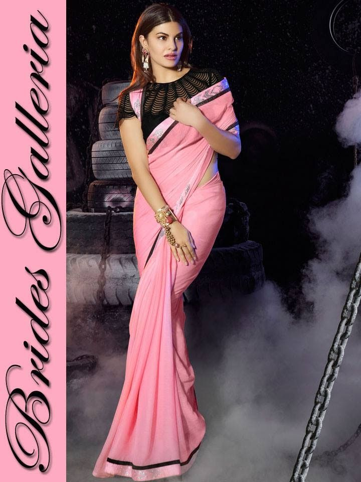 Bollywood Celebrity Jacqueline Fernandez Awesome Sarees 2015 By Wedding brides Galleria | Breaking Fashion News Fashion Hunt World Style ....