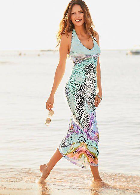 bb876973e516 Wild Vibrant Maxi Dress in 2019   Trend: Winter Sun   Dresses ...