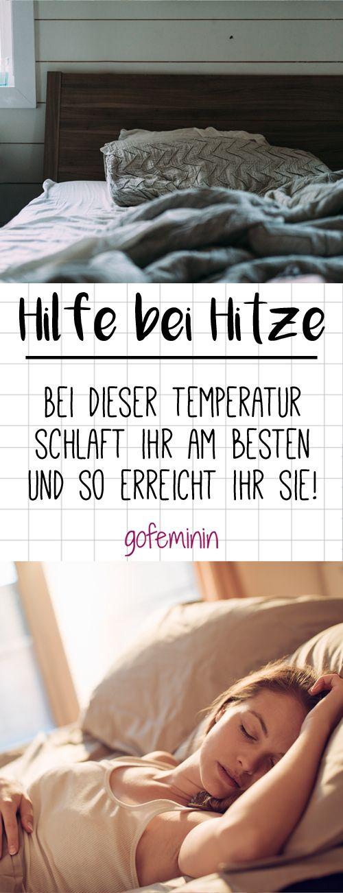 Hilfe bei Hitze: Bei DIESER Temperatur schlaft ihr am besten und so erreicht ihr sie!