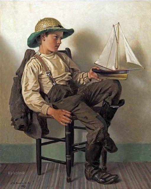 John George Brown (November 11, 1831 – February 8, 1913) was a British painter.