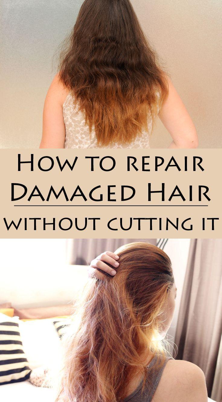 Pin On Repair Damaged Hair