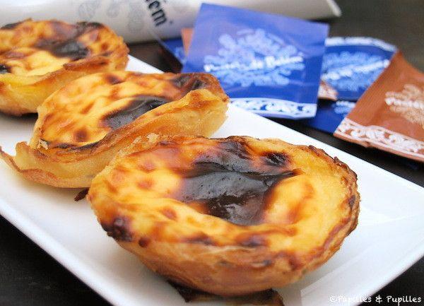 Pastéis de nata de Belém . La vraie recette de Lisbonne avec video en fin d'article .