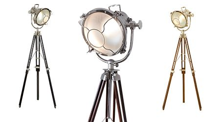 Art Deco Theatre Light from Hunter Furniture