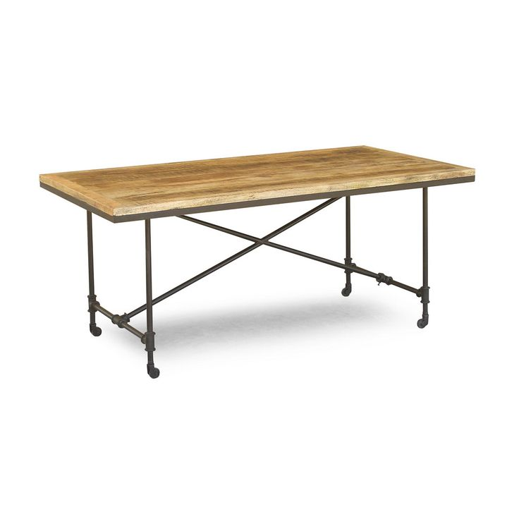 17 Best Simple Industrial Dining Table Images On Pinterest Gorgeous Mango Wood Dining Room Table Decorating Inspiration