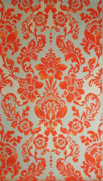 Black White Modern Wallpaper Palais Blood Orange Wallpaper By Tyler Hall House