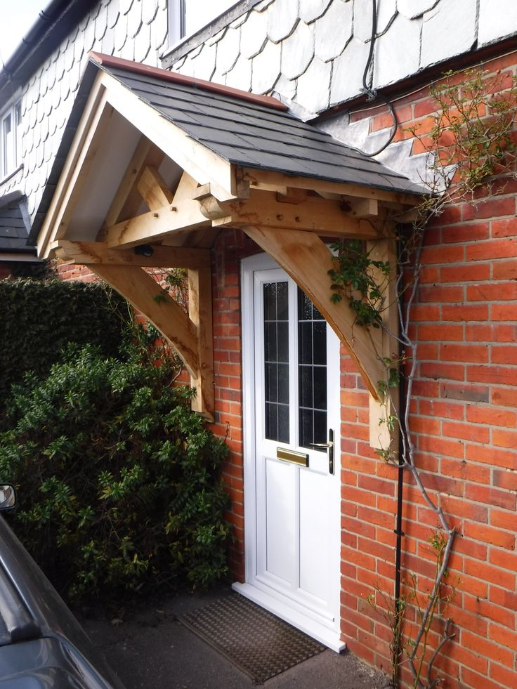Oak Framed Gallows Bracket Porch Porch Roof Porch