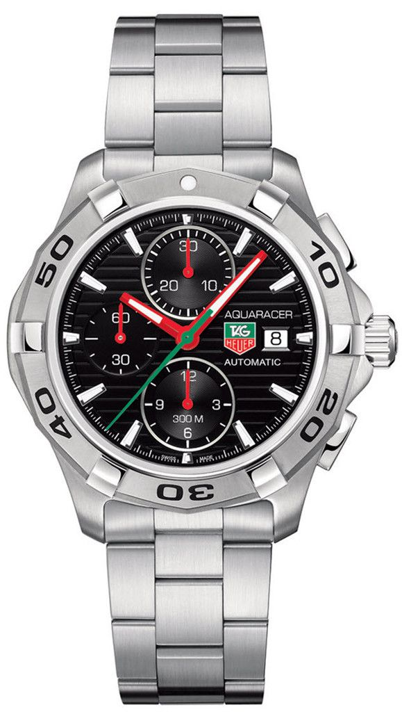 TAG Heuer Watch Aquaracer Automatic Chronograph #bezel-fixed…