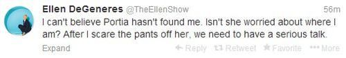 How to scare your wife by Ellen DeGeneres--but you actually have to go to the website to see the whole thing.