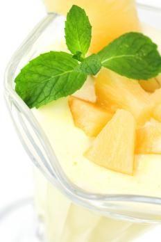 Ricetta frullato di ananas e yogurt