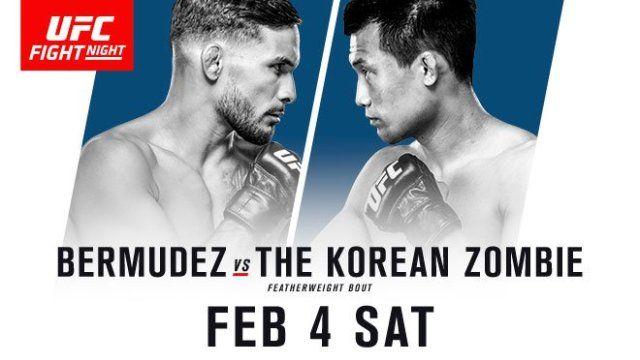 Watch UFC Fight Night 104: Bermudez vs. Korean Zombie 2/4/2017 Full Show Online Free