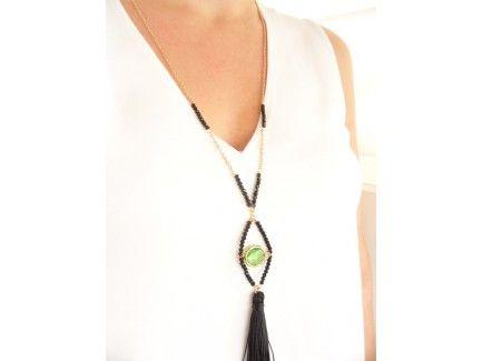 Green Eye Pendant Necklace