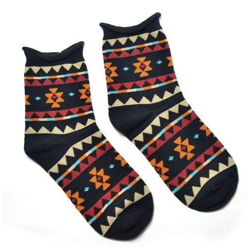 Calcetines AZTEC | AZTEC Socks via siirup. Click on the image to see more!
