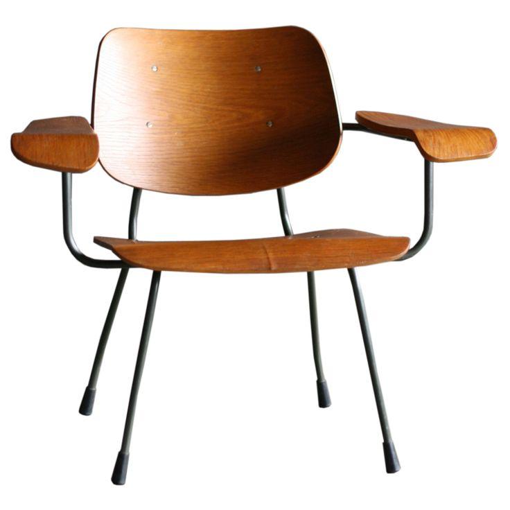 Tjerk Reijenga Model 8000 lounge chair for Pilastro // Netherlands 1960's