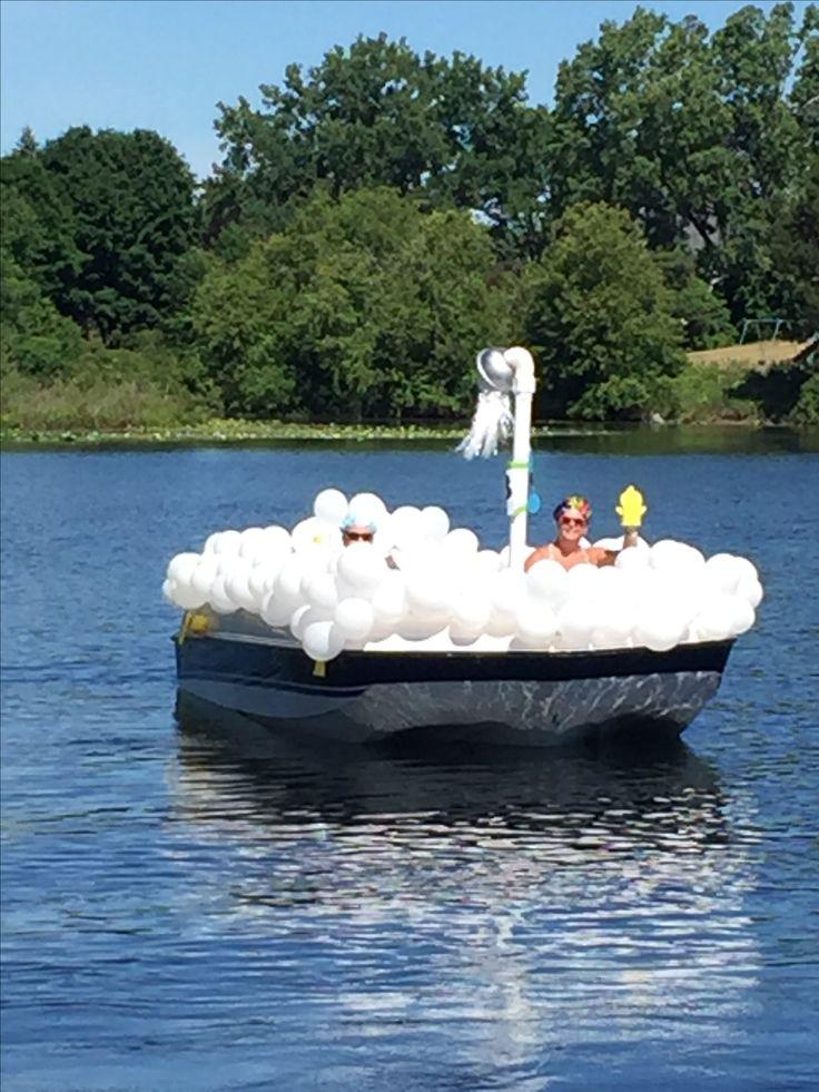 Bubble Bath Boat parade float