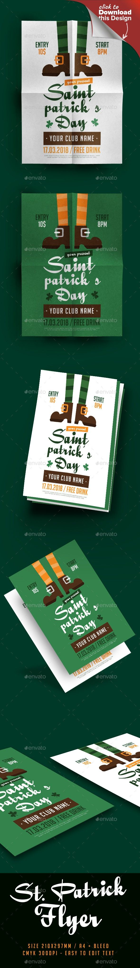 Saint Patricku0027s Day Flyer 59 best Flyers