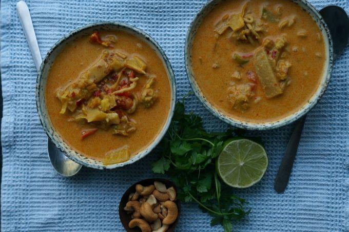 Thai suppe - min yndlings suppe over dem alle. Den bedste jeg nogensinde har lavet. Prøv den, jeg lover den er god