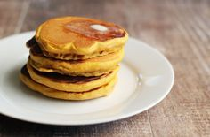 Pumpkin Pancakes with Bisquick | This Week for Dinner