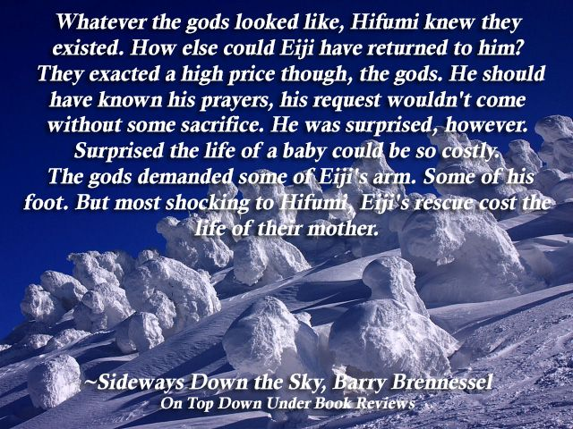 The Gods can exact a high price for a baby's life.