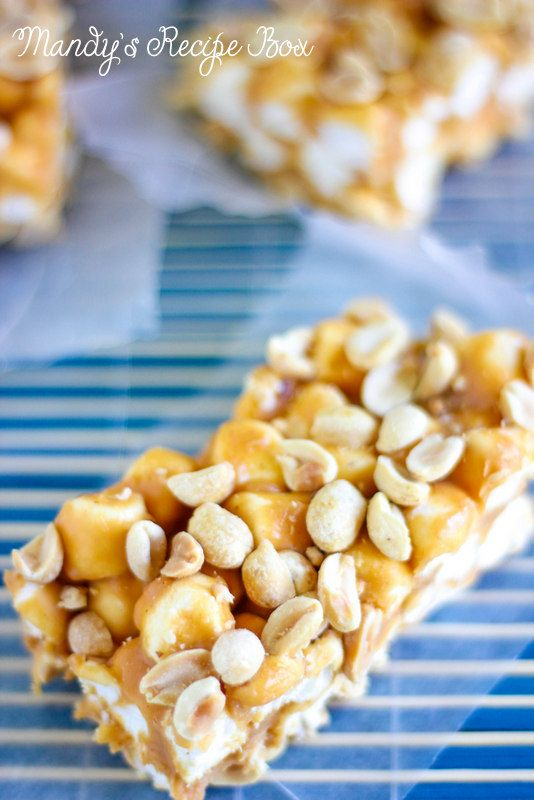 Marshmallow Peanut Bars