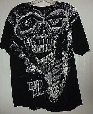 Third Rail Skull Tshirt Size Large