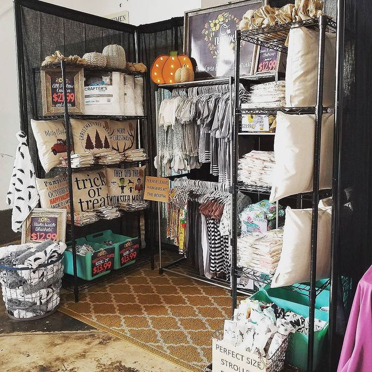 Okayyyyy friends....this is our booth all set up @battlecreekboutique. I am exhausted! This is our first boutique...I've never understood how much work goes into these things. We've got 16 different pillow covers for $19.99 and so many clothing options for baby and toddlers starting at $12.99. Also some adorable swaddle blankets. Please please tag your friends and help us spread the word! . . Battle creek boutique: 65 east 200 South  Pleasant Grove #battlecreekboutique