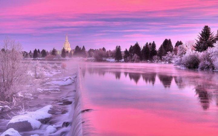 jpg 720x450 Idaho sunset background