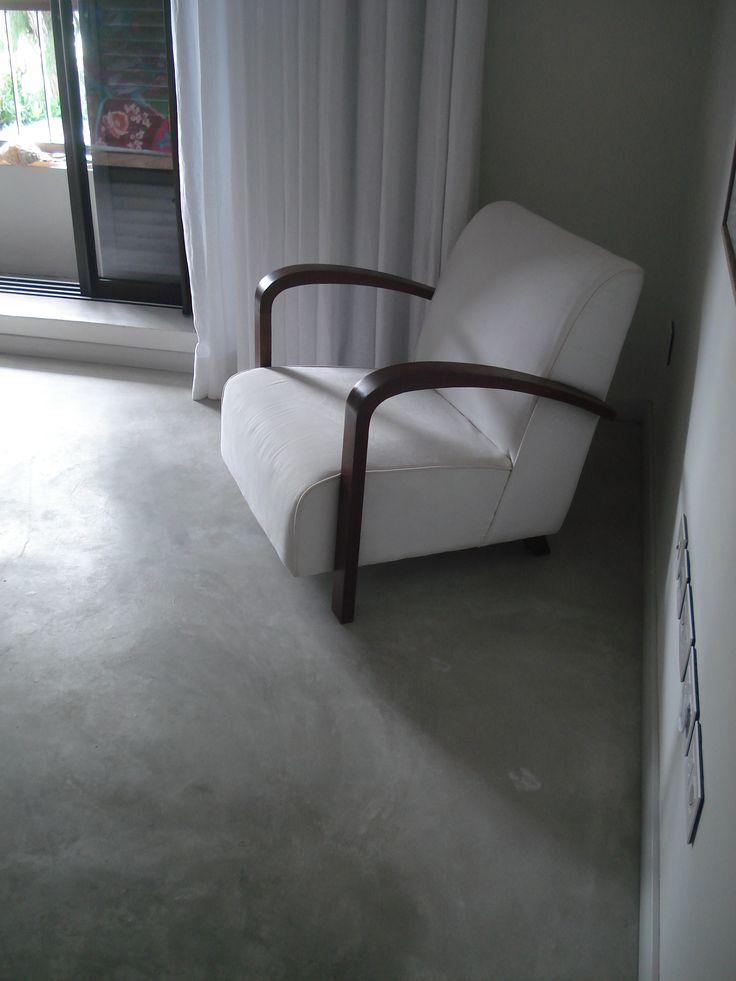 Cement Floors - Colour Hardener GREY #cement #floor #concrete #cemtech
